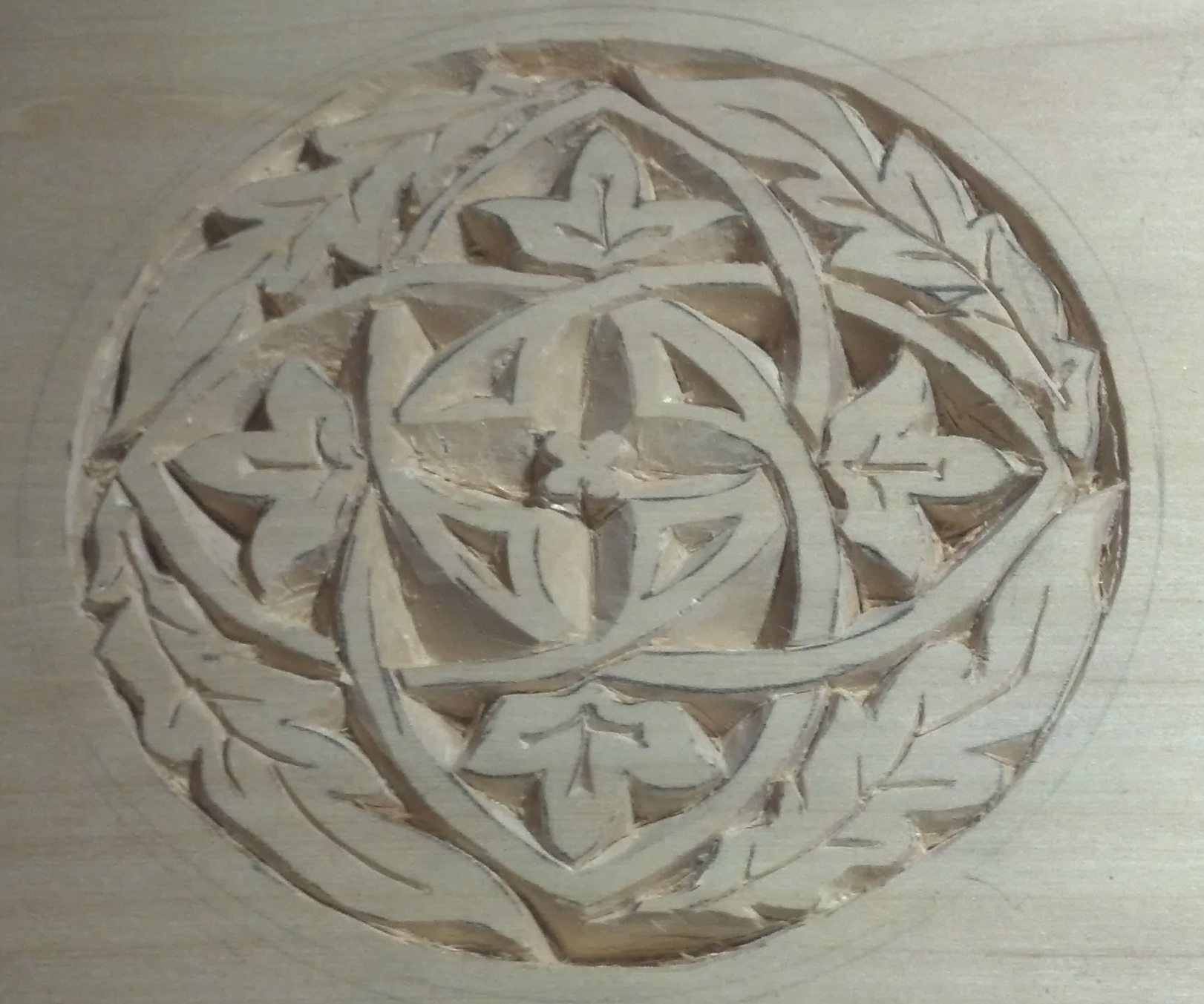 Hobby chip carving